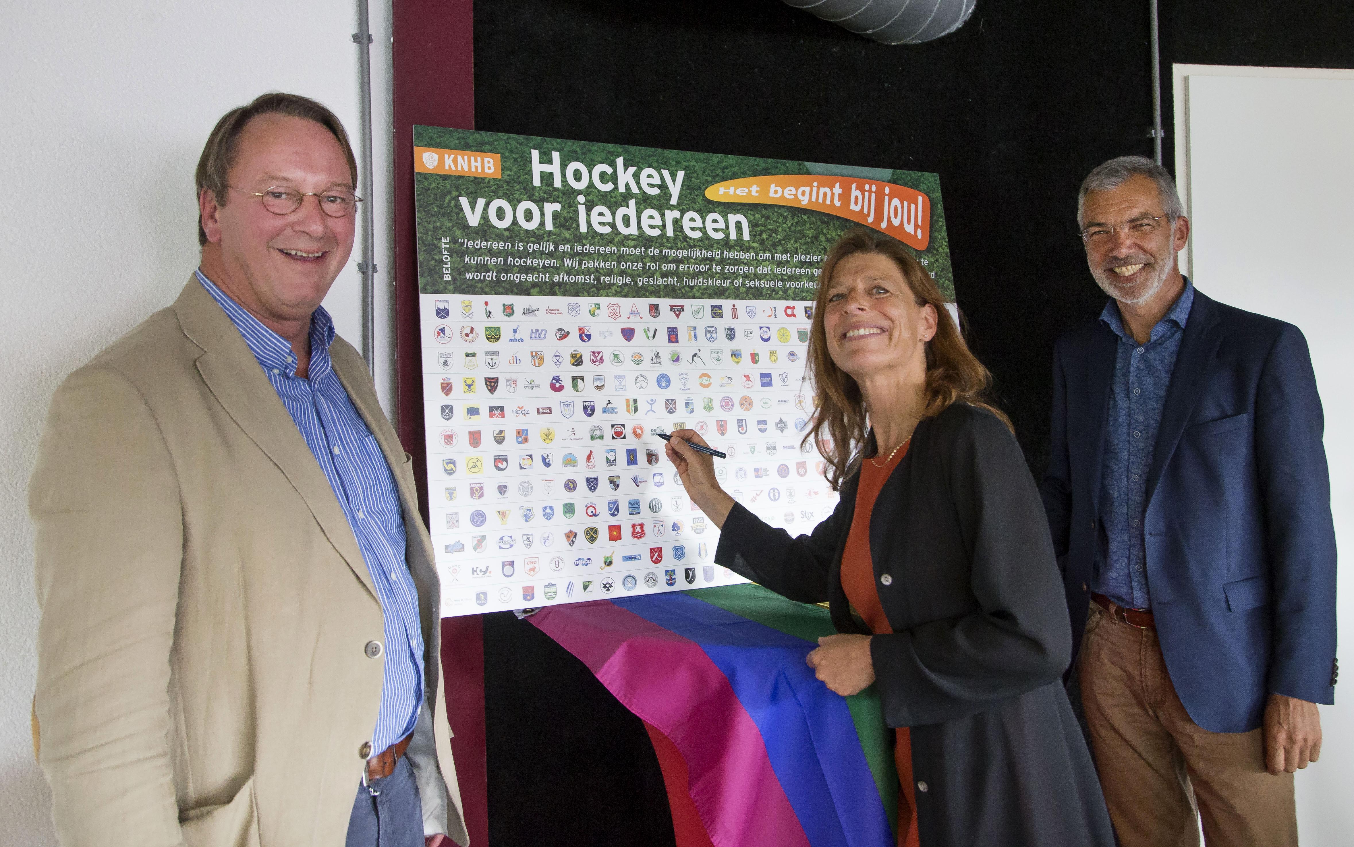Congres 'Hockey voor iedereen': verenigingen slaan handen ineen rondom het thema diversiteit