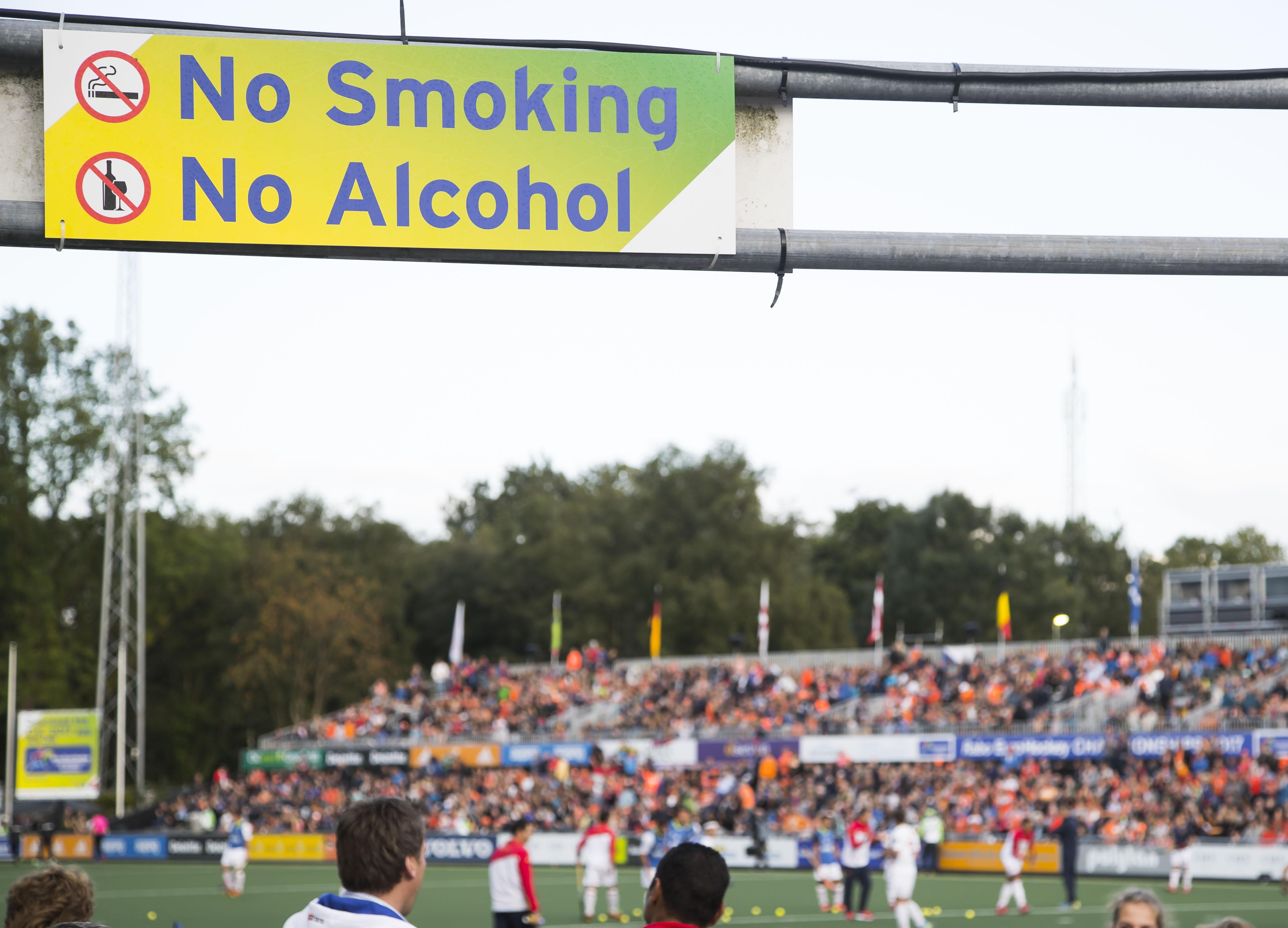 KNHB zet zich in voor rookvrije sportterreinen
