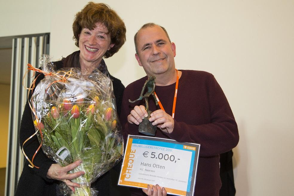 Wie wint de Vrijwilligerstrofee 2017?