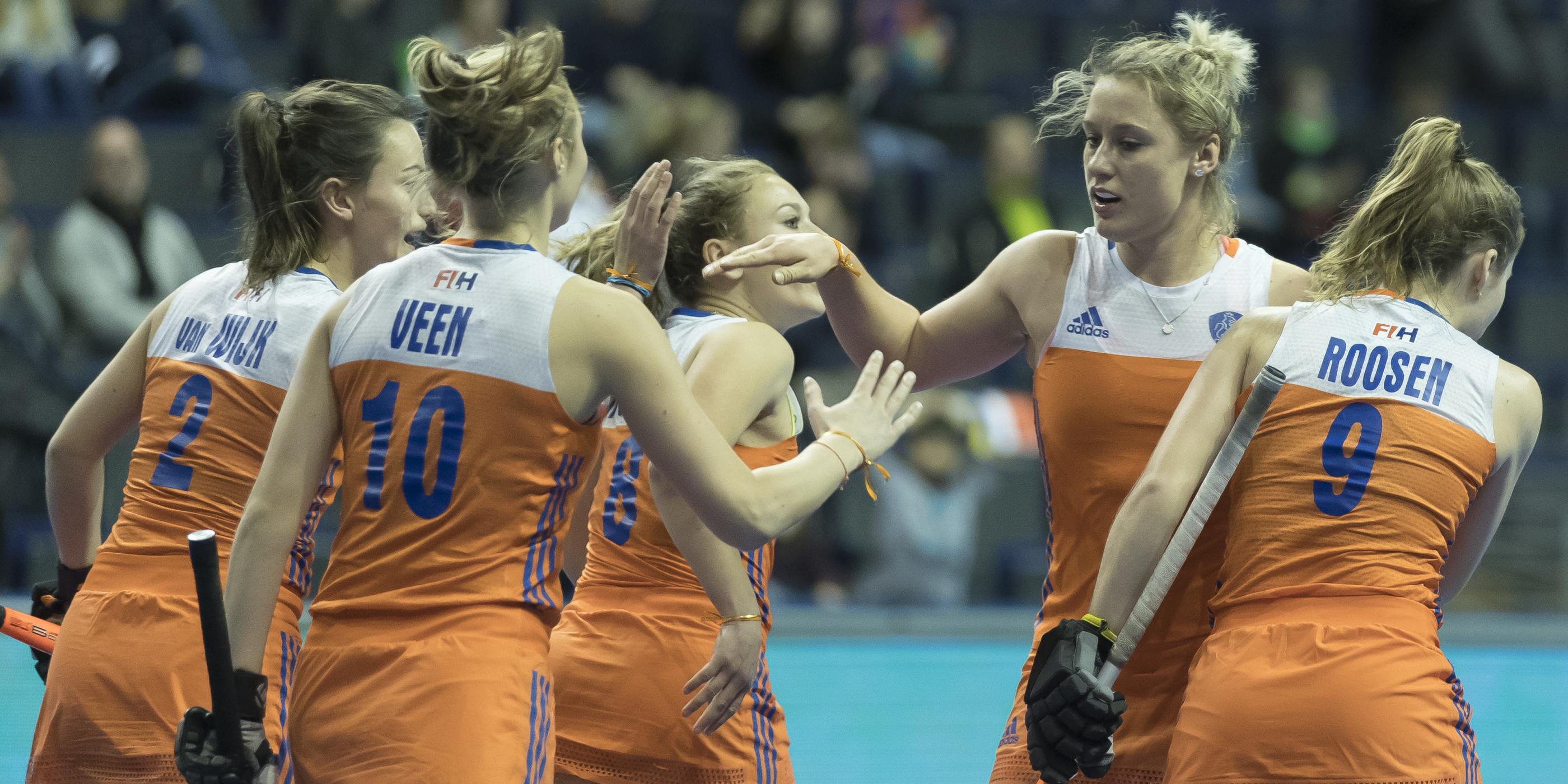 Zilver voor Nederland op WK Zaal