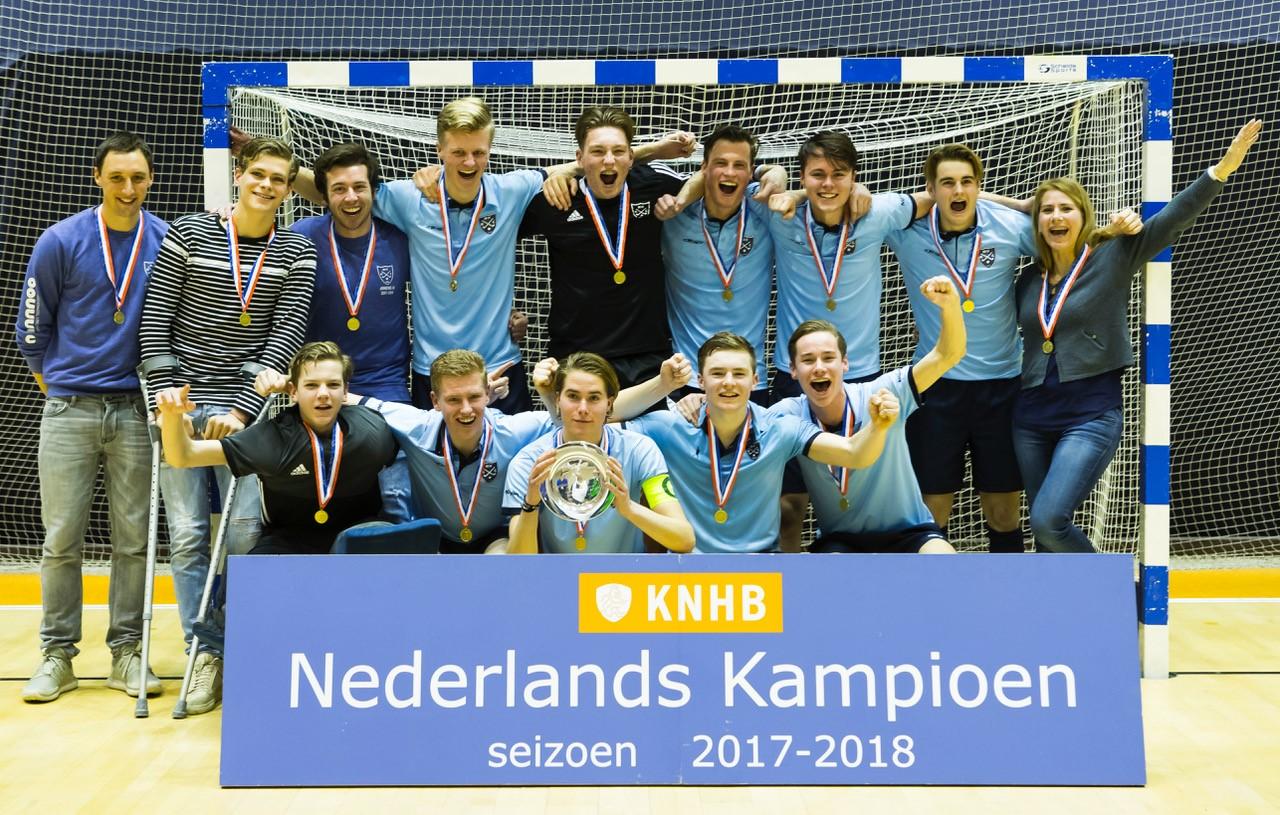 NK Zaalhockey 2018 en Districtskampioenschappen