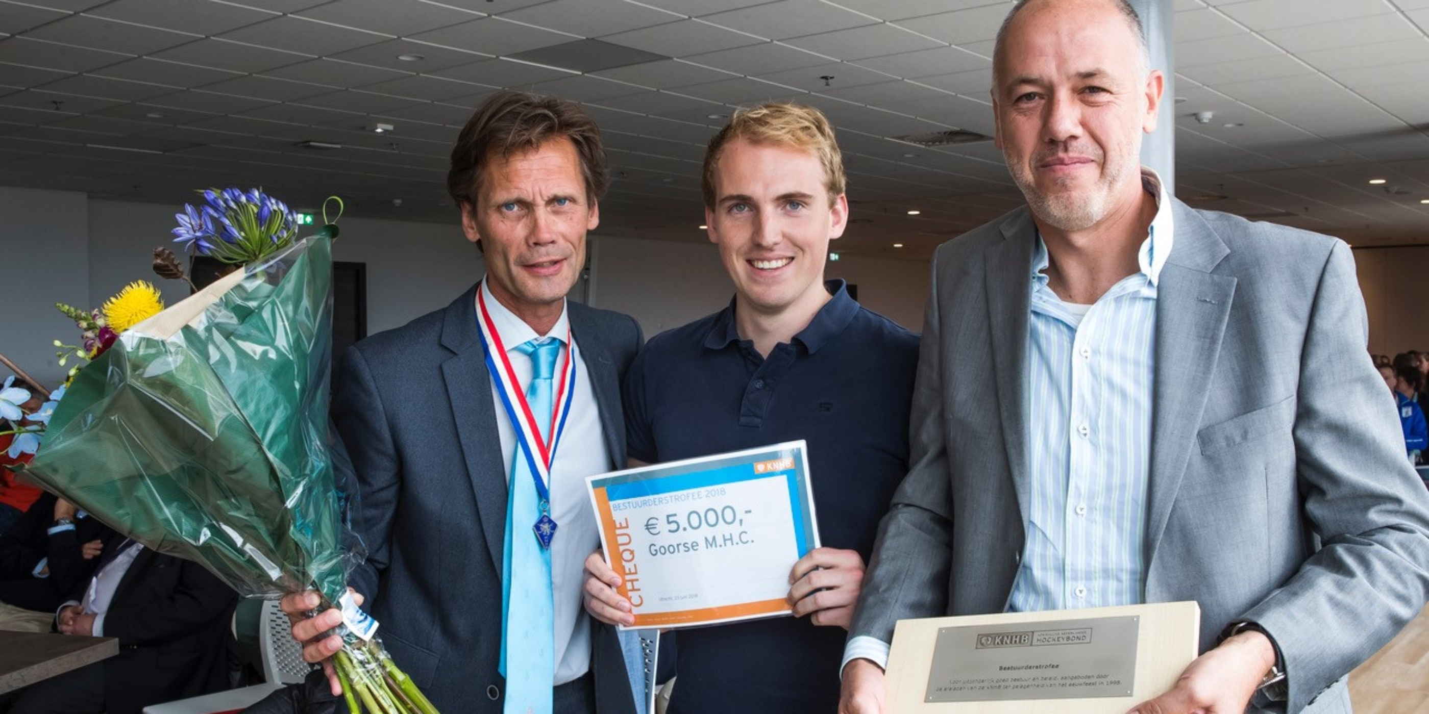 Goorse Mixed Hockey Club wint Bestuurderstrofee 2018
