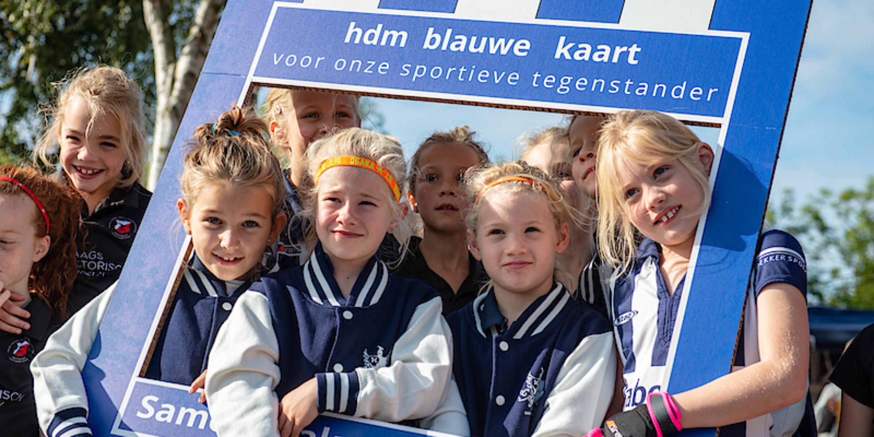 Blauwe kaart hdm vergroot Sportiviteit & Respect op het veld