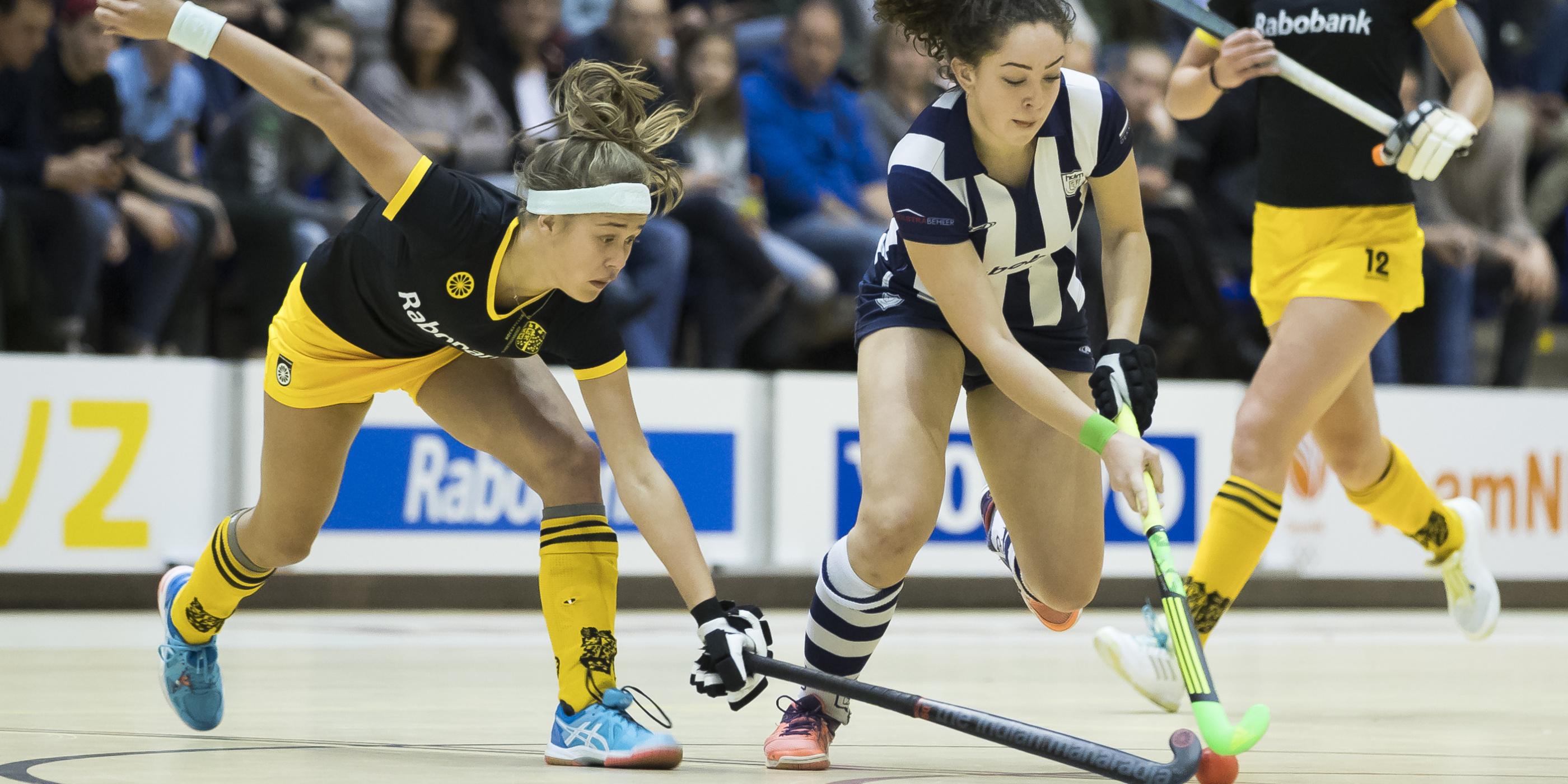 Bekendmaking indeling en programma Hoofdklasse Zaalhockey 2019-2020 en districtscompetities