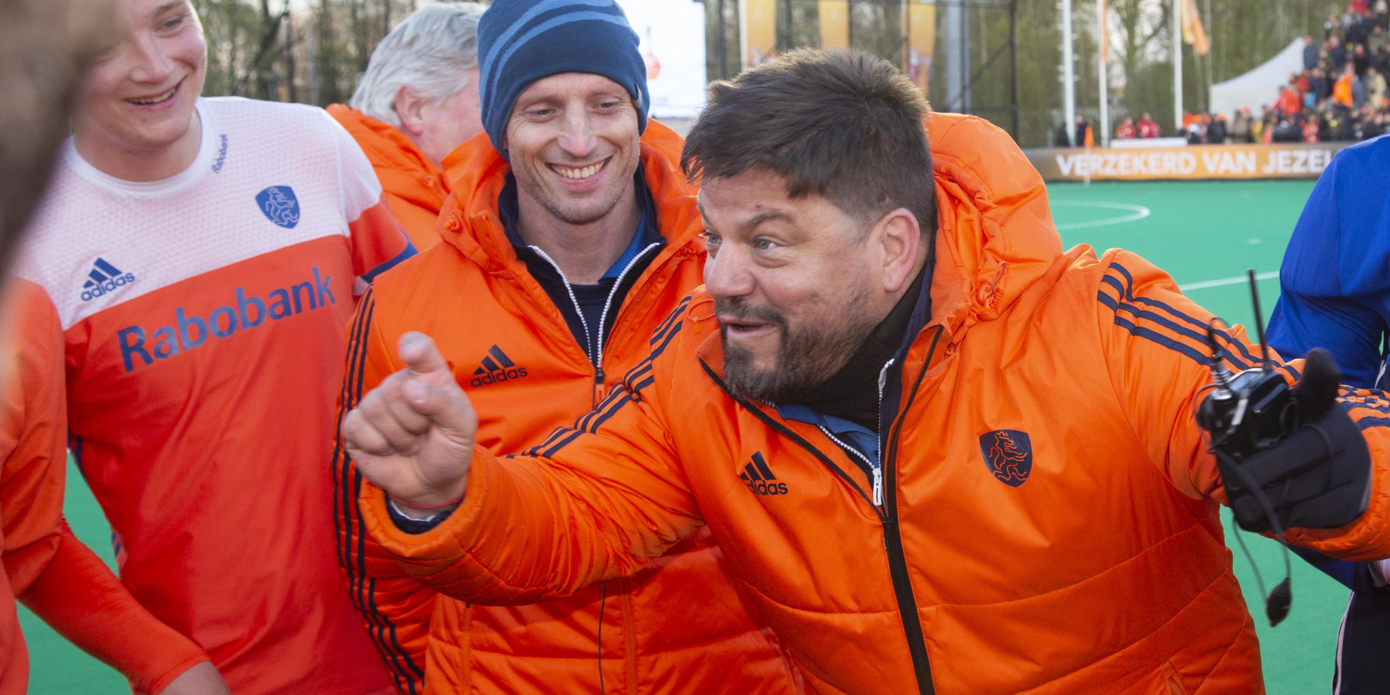 Caldas kiest selectie Nederland - Groot-Brittannië (Heren) op zondag 2 juni