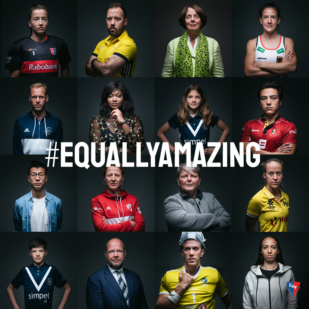 EHF lanceert campagne 'Equally Amazing'
