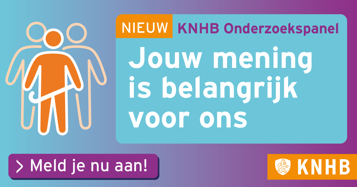 Leden gezocht voor het KNHB Panel