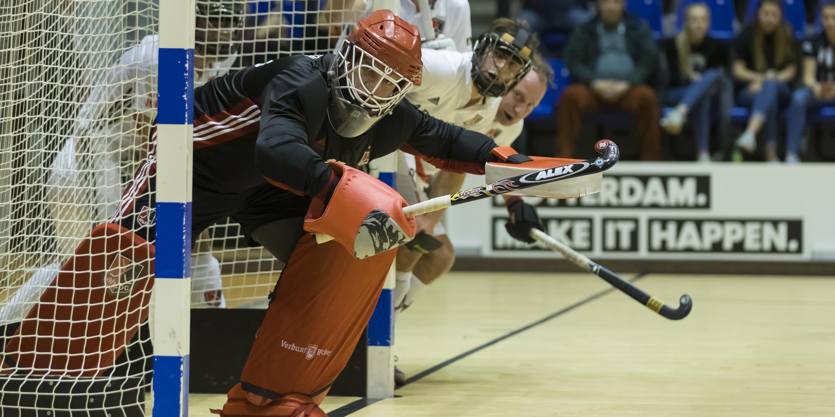 Regelwijzigingen zaalhockey: de vliegende keeper verdwijnt