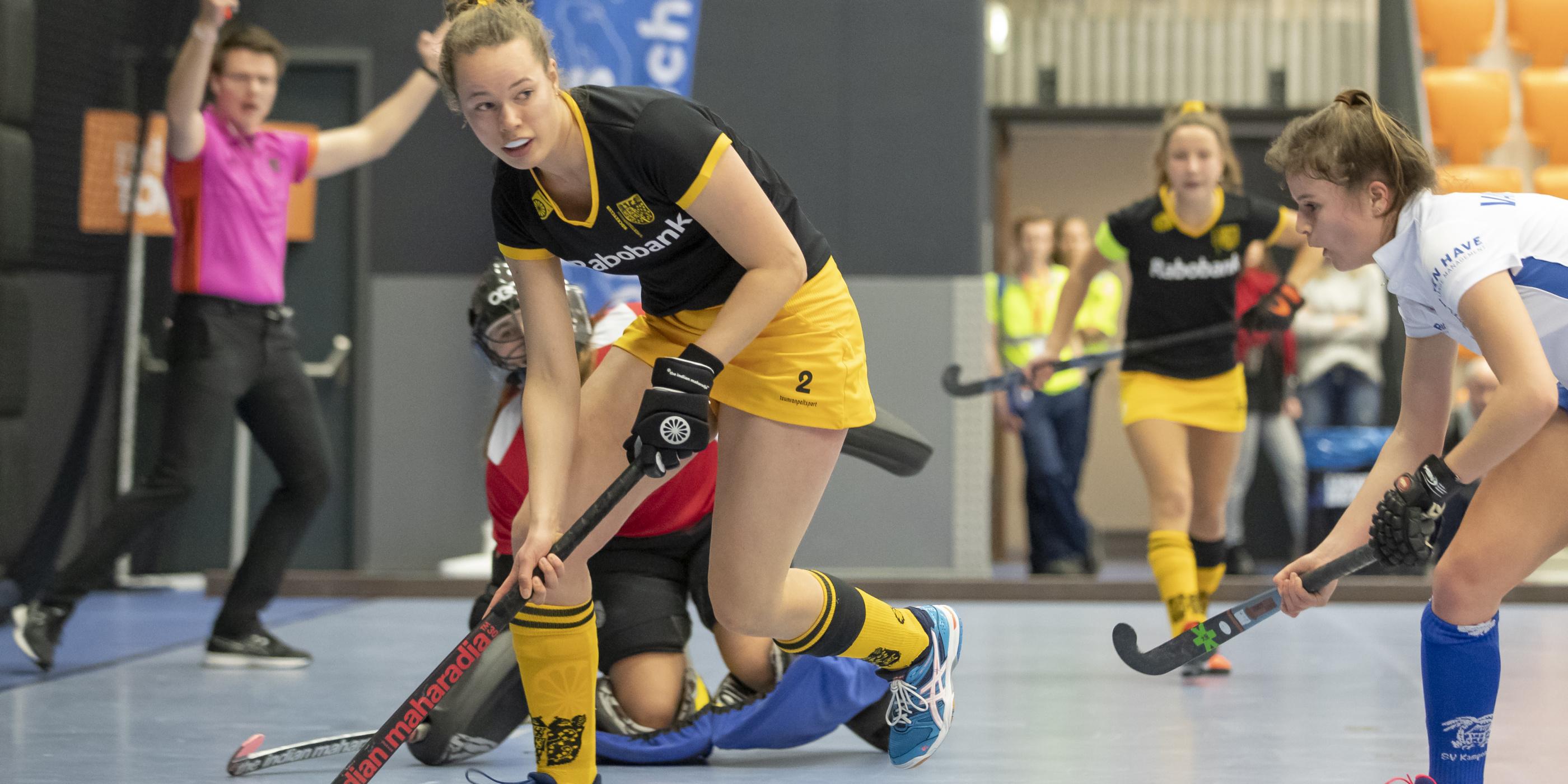 Indeling Hoofdklasse Zaalhockey seizoen 2020-2021