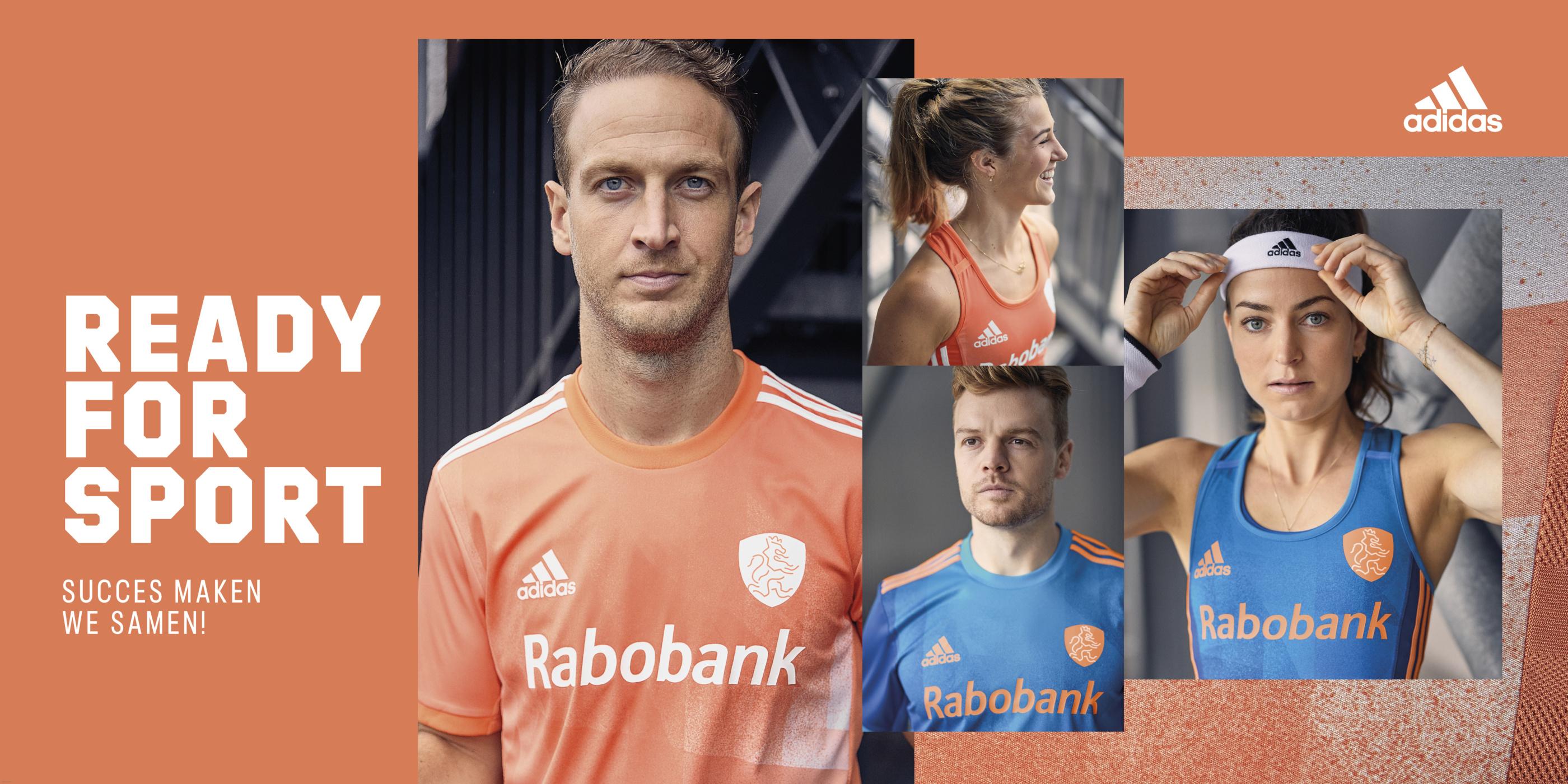 KNHB en adidas presenteren nieuwe wedstrijdtenues Nederlands Elftallen