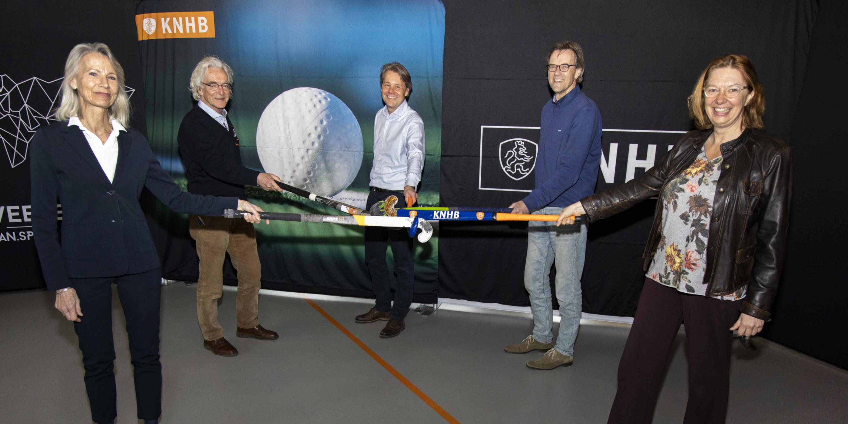 Samenwerking KNHB en Federatie Nederland Hockey Masters