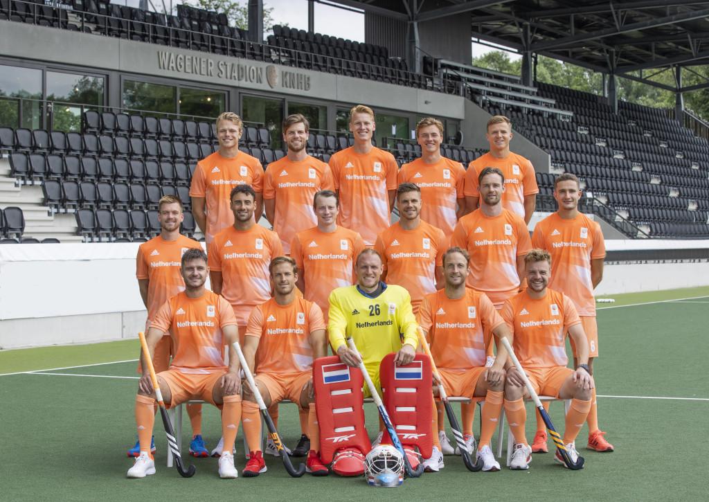 Oranje Heren teamfoto