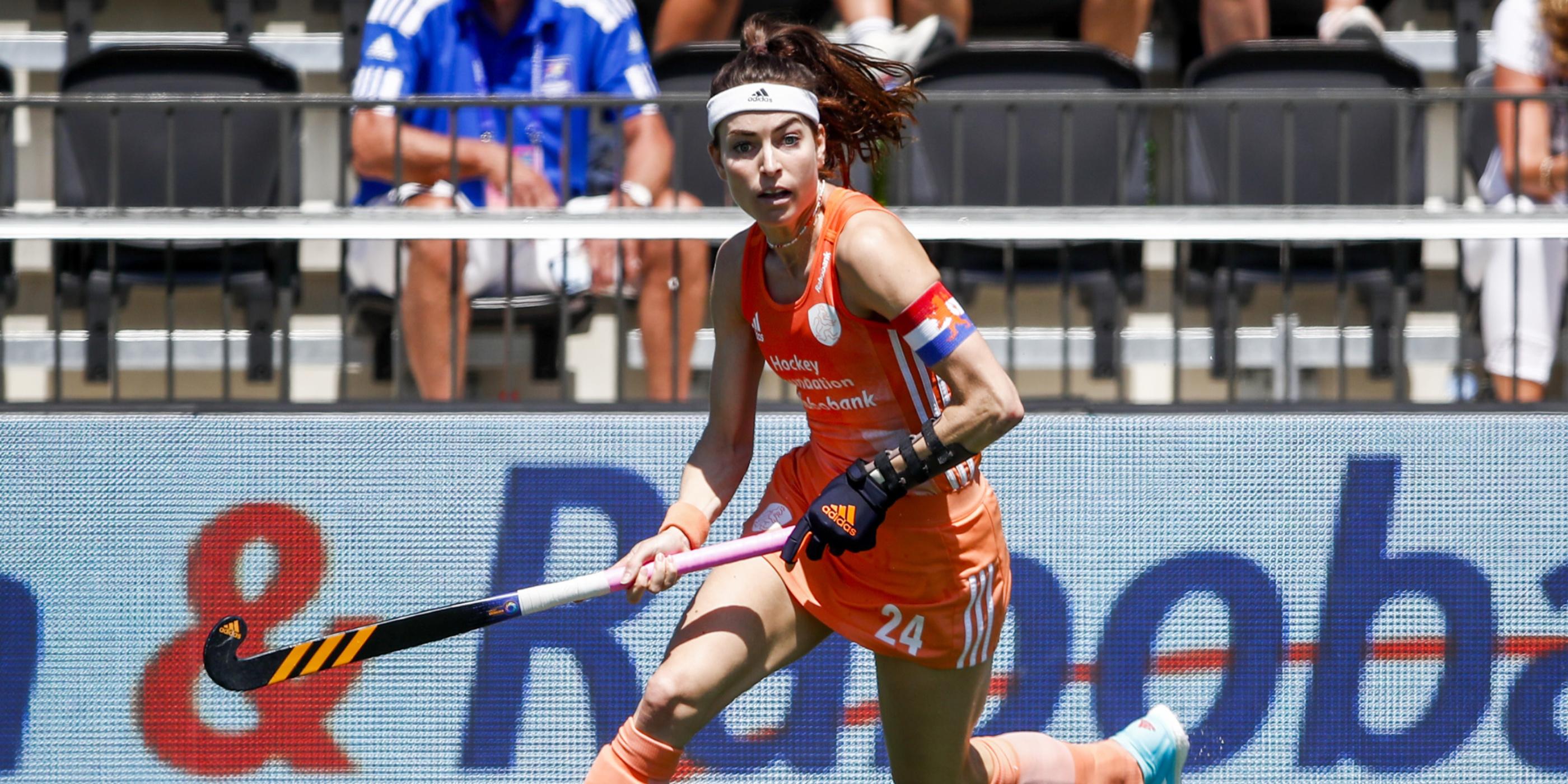 Selectie FIH Pro League duel Nederland-België (Dames)